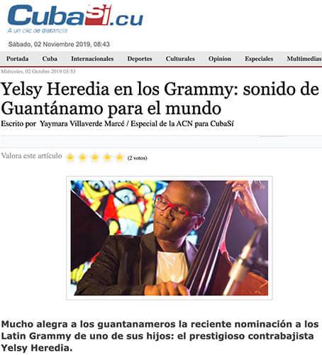 Entrevista Yelsy Heredia en Cuba Sí