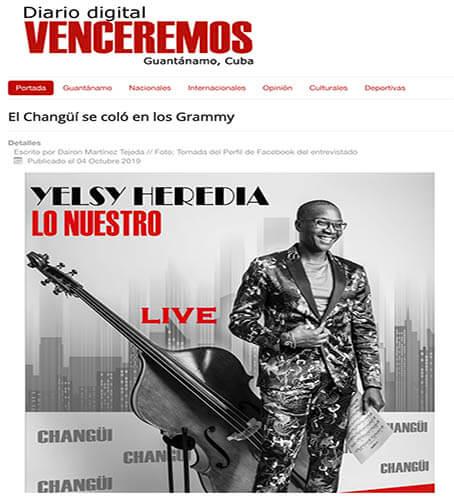 Entrevista Gramma a Yelsy Heredia